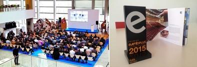 El Fórum logra el segundo premio a 'Mejor espacio para eventos' de los galardones EventoPlus