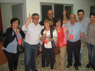 El PSOE se reúne con IU-Ganemos para hablar del Gobierno local