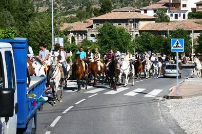 Miles de personas en romería