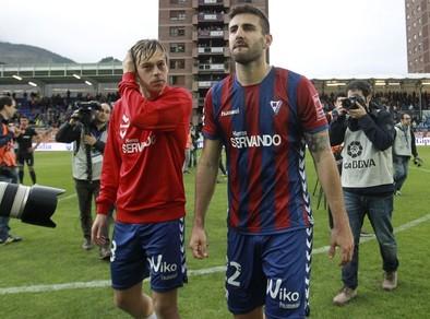 Eibar y Almería descienden a Segunda División