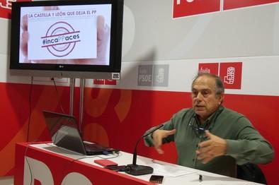 La recuperación que dibuja el PP no pasa por Castilla y León, según Rodero (PSOE)