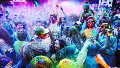 Explosión de mil colores