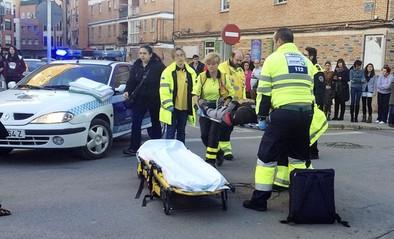 Accidente en Pedrera Alta con un herido leve