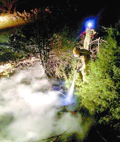 Dos incendios en el monte en sólo tres días hacen saltar las alarmas