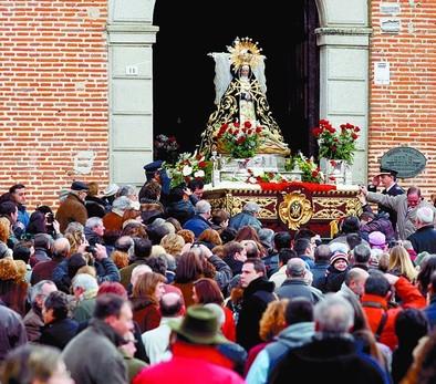 Febrero arranca festivo en Arévalo con Las Candelas, Santa Águeda y Las Angustias