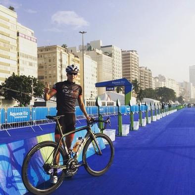 Alarza compite hoy en el circuito olímpico de Río