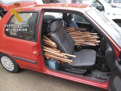 Toledo es una de las provincias con mayor incidencia de robo de cobre
