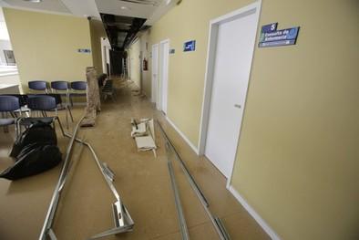 Desalojan el centro de salud tras la rotura de una tubería