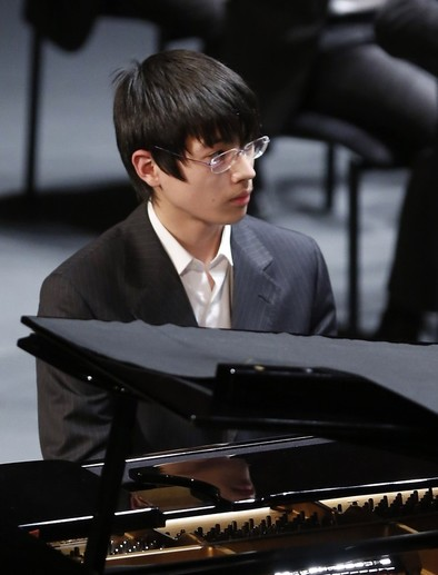 Bernaldo de Quirós, tercer premio en el concurso de piano Scriabin de Italia