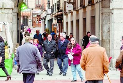 El 17,6% de los habitantes tienen más de 65 años y el 31,7% son jóvenes