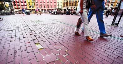 La reforma de la Plaza Mayor se estanca hasta contar con partida en 2016