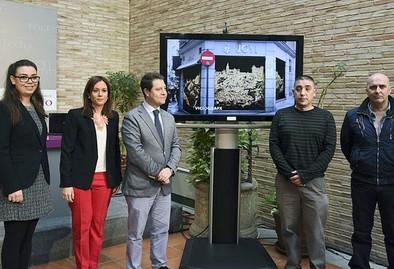 Veinte comercios del Casco decorarán sus cierres metálicos con arte urbano