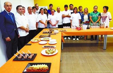 Más de la mitad de los alumnos de cocina encuentran salida laboral