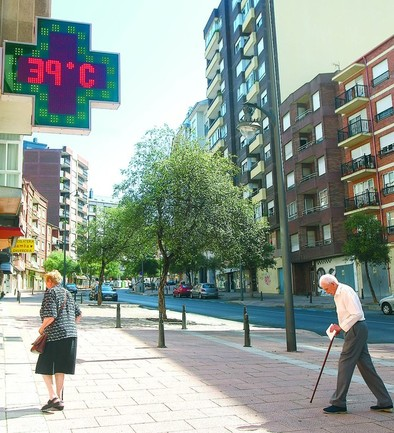 Las altas temperaturas disparan las consultas médicas por golpes de calor en Castilla y León