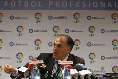 La LFP carga contra Villar y afirma que no se siente «representada»