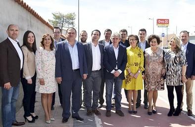 Esteban dice que el PP ha procurado una región «estable y de futuro»