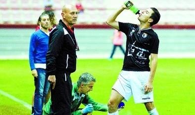 La lesión de Jorge Sáez en una rodilla no le impedirá jugar mañana