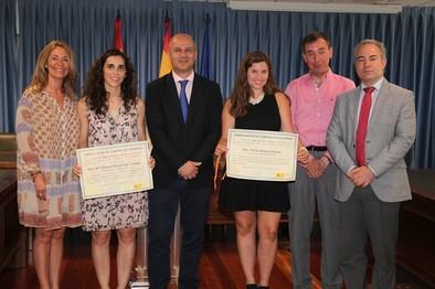 Dos alumnas de Valladolid, Premios Nacionales de FP de Grado Superior