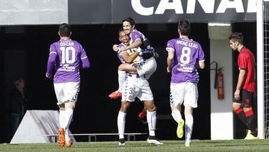 El Real Valladolid arrolla al Mallorca