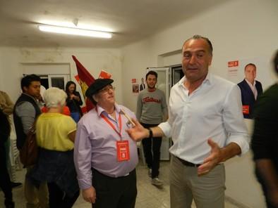 El PSOE gana con ocho concejales, el PP baja a siete y Ganemos logra dos