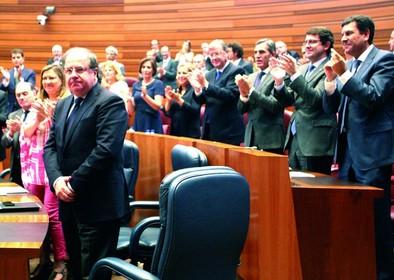 Herrera inicia su quinto mandato con «vértigo» por el adiós a su Gobierno