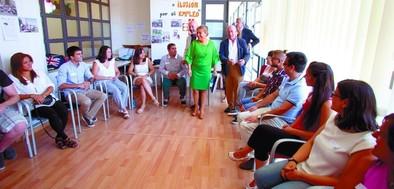 Junta, Fundación Santa María la Real y Telefónica se alían para crear empleo