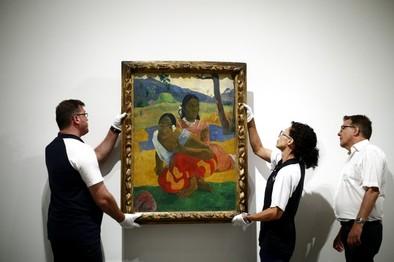 Un Gauguin de oro