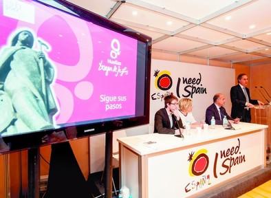 Huellas de Teresa se presenta como «una nueva forma de conocer España»