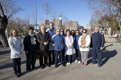Sanidad reconoce la labor de los fisioterapeutas en parques urbanos