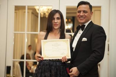 La modista abulense Teresa Díez logra uno de los 'Dedales de Oro' 2015