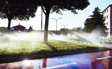 La sequía dispara un 80% el consumo para riego de jardines