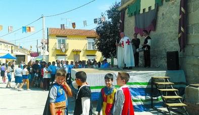 El medievo llega a Las Berlanas
