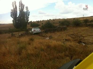 Seis heridos en un accidente ocurrido de madrugada en Arévalo