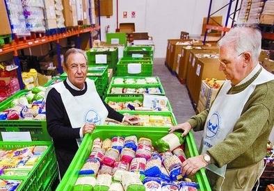 La cifra de beneficiarios del Banco de Alimentos se mantiene en 2015