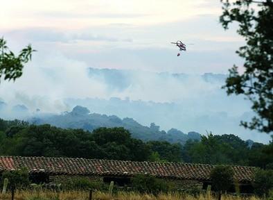 Bermellar engrosa la lista de grandes fuegos con 710 hectáreas calcinadas