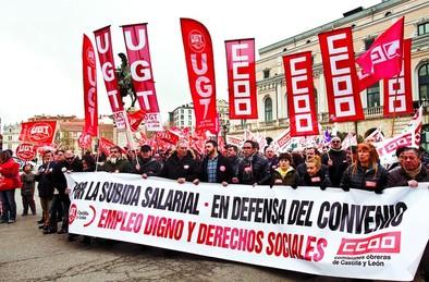 CCOO y UGT claman contra la Patronal por no sentarse a negociar