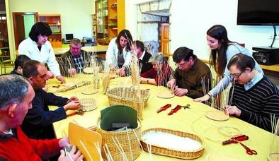 El centro ocupacional traslada su actividad al viejo instituto lermeño