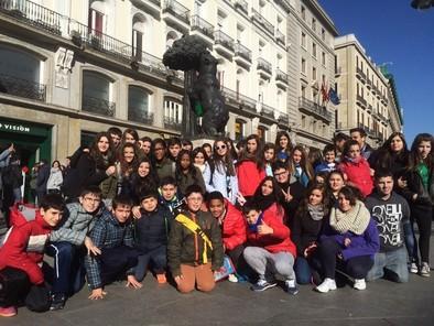 El programa educativo 'Construyendo mi futuro' se cerró en la capital de España
