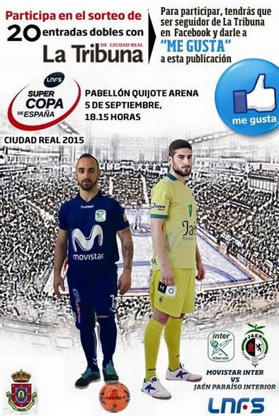 La Tribuna te invita a la Supercopa de España de Fútbol Sala