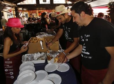 Los hosteleros pedirán al alcalde una subida de 30 céntimos del pincho de la Feria de Día 2015