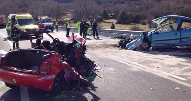 Al menos cinco muertos en un accidente de tráfico en la N-403