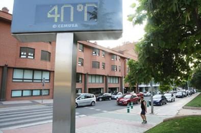 La ciudad está en alerta amarilla por altas temperaturas hasta mañana