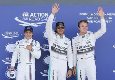 Hamilton saldrá por delante de Rosberg en 'casa'