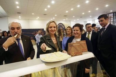 La II Feria Nacional del Queso abre sus puertas con «buenas expectativas» de visitantes