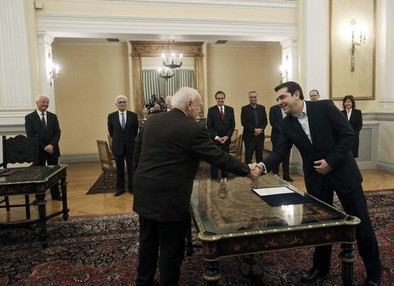 Syriza coge el timón de Grecia