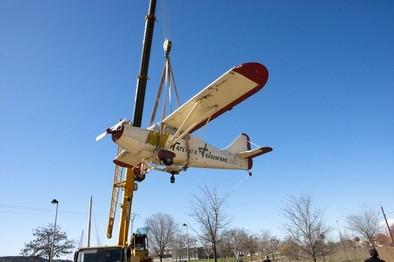 El alcalde asegura que el Ayuntamiento dará «un repaso general» a la avioneta