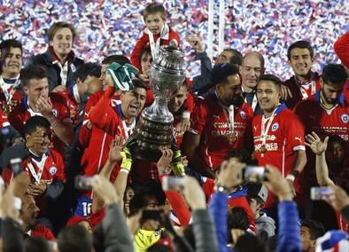 Chile se corona de penalti
