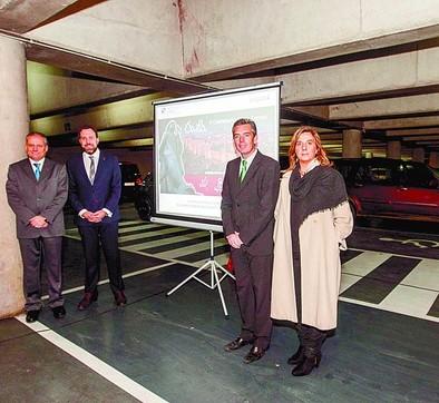 El V Centenario se promocionará en los 150 aparcamientos de Empark