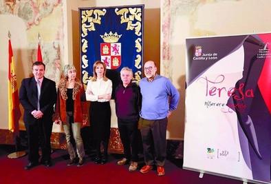 La obra 'Teresa. Miserere gozoso' se estrenará en Ávila el próximo día 12