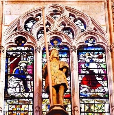 Patrimonio permite actuar en las vidrieras de los Condestables